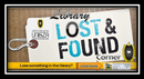 Lost and Found Corner